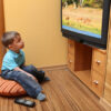 Does Sitting Too Close to the TV Hurt Your Eyes?