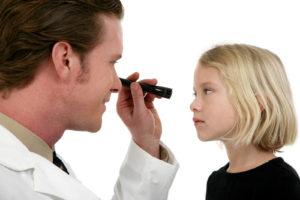 Child's Eyes Examined Image