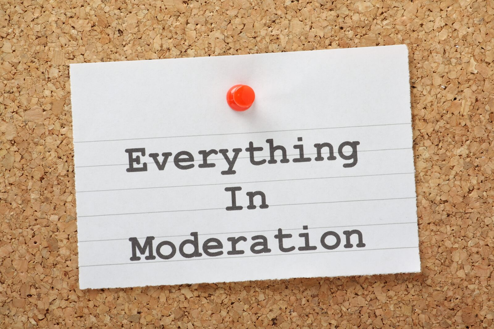 moderation is the key to healthy living The alternative is moderation—in your eating and his interest in healthy living began at the age of 50 when he confronted his own morbid obesity and health issues.