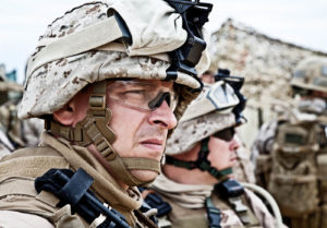 Military Personnel Eye Safety: On and Off Duty