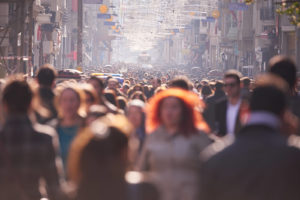 How We See Our Surroundings Is Affected by Visual Crowding