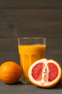 Vision Boosting Recipe of the Month: Orange Juice and Grapefruit Juice