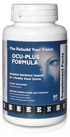 Rebuild Your Vision Ocu-Plus Formula Bottle