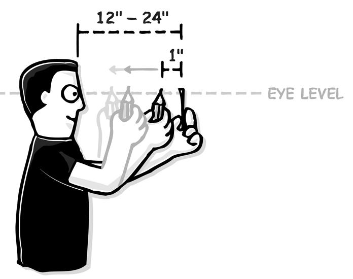 Exercícios de Olhos Livres