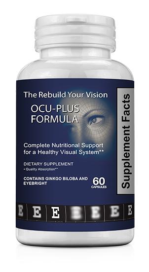 Ocu-Plus | Vitaminas para los ojos